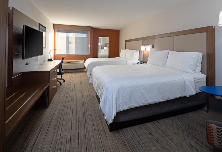 Holiday Inn Express Hotel & Suites SeaTac, SeaTac, Habitación, 2 camas Queen size, para no fumadores, Habitación