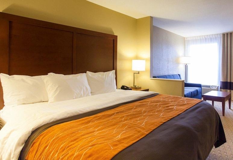 Quality Inn & Suites I-40 East, North Little Rock, Suite, 1 cama King size, para no fumadores, Habitación