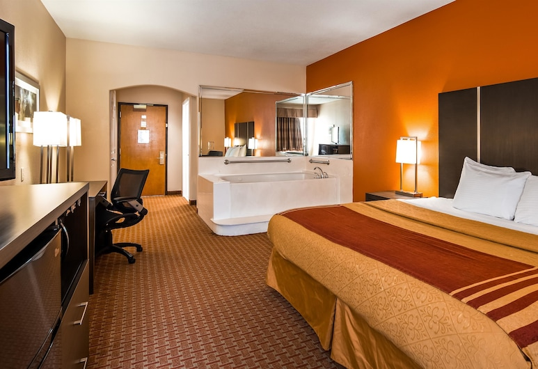 Best Western Plus North Houston Inn & Suites, Houston, Suite, 1 King Bed, Non Smoking, Refrigerator & Microwave, Guest Room