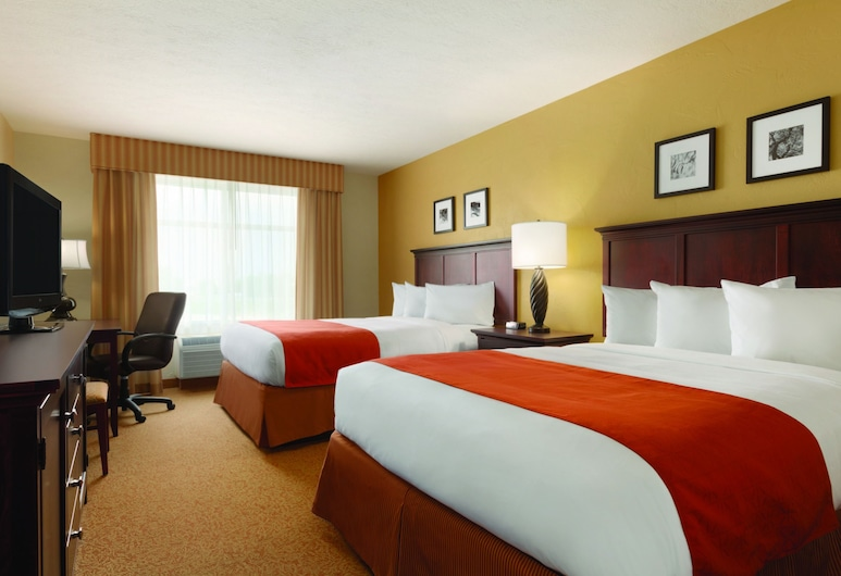 Country Inn & Suites by Radisson, Tucson Airport, AZ, Tucson, Room, 2 Queen Beds, Non Smoking, Guest Room