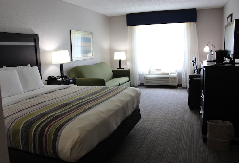 Country Inn & Suites by Radisson, Jacksonville, FL, Jacksonville, Studio Suite, 1 King Bed, Non Smoking, Guest Room