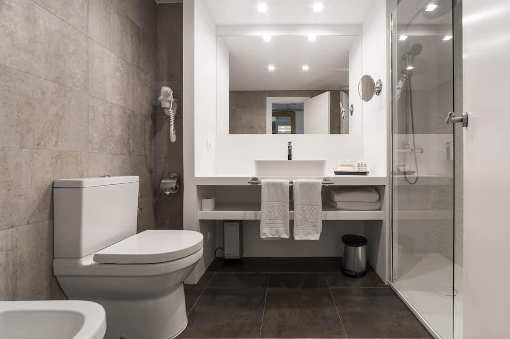 Habitación doble de uso individual (Goya Street View) - Baño