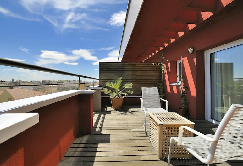 Vincci SoMa, Madrid, Double or Twin Room (Goya Street View), Terrace/Patio