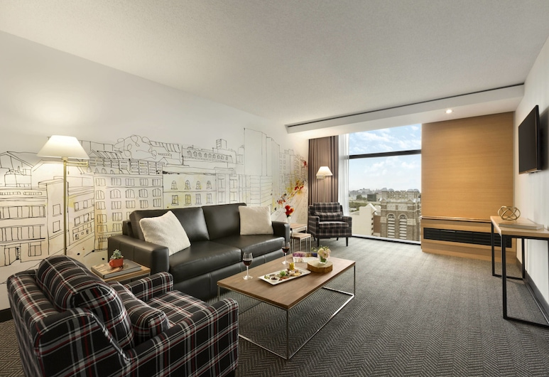 Hotel PUR Quebec, a Tribute Portfolio Hotel, Quebec, Room, 1 King Bed, Non Smoking (Parlor), Guest Room