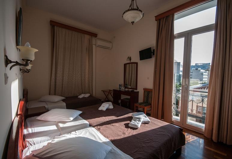 Cecil Hotel, Atėnai, Ekonominės klasės trivietis kambarys, Svečių kambarys