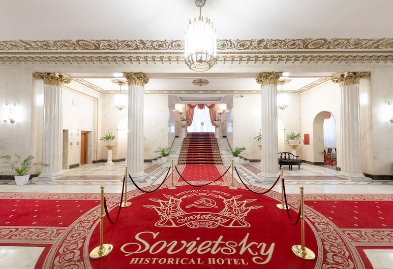 Legendary Hotel Sovietsky, Moskva, Reception