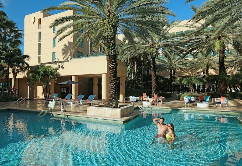 Intercontinental at Doral Miami, דוראל, בריכה חיצונית