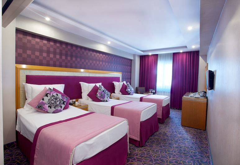 Carlton Hotel, Istambuł, Pokój dla 3 osób, 3 łóżka pojedyncze, Pokój