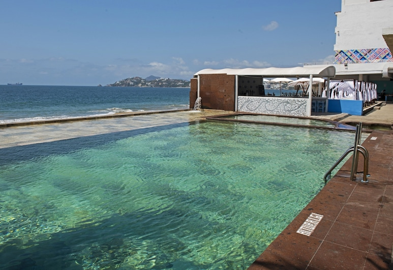 Hotel Fiesta Mexicana, Manzanillo, Infinity Pool