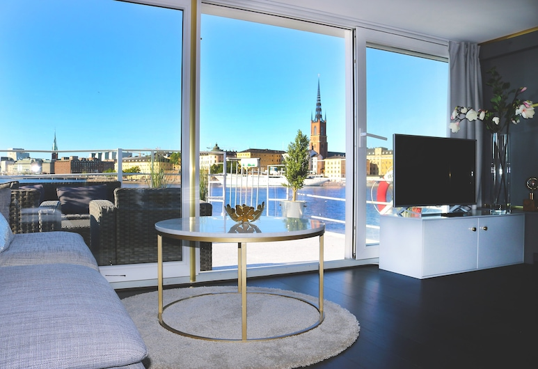 Rygerfjord Hotel & Hostel, Stockholm, Suite , Terrace/Patio
