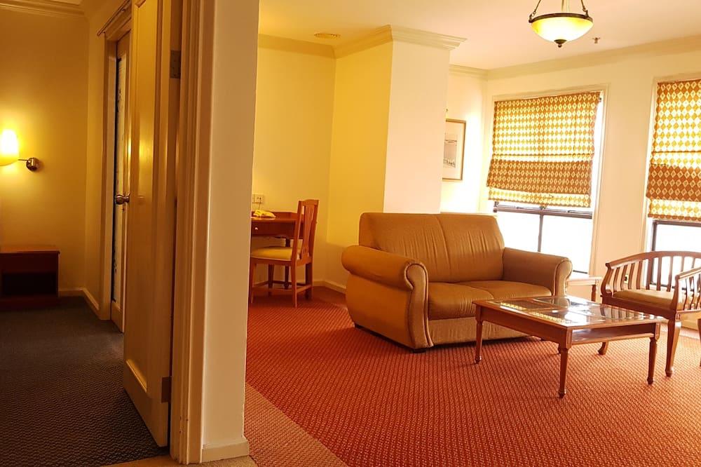 Apartmán, 3 spálne (Suite First Type) - Obývacie priestory
