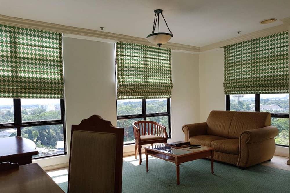 Apartmán, 2 spálne (Suite Second Type) - Obývacie priestory