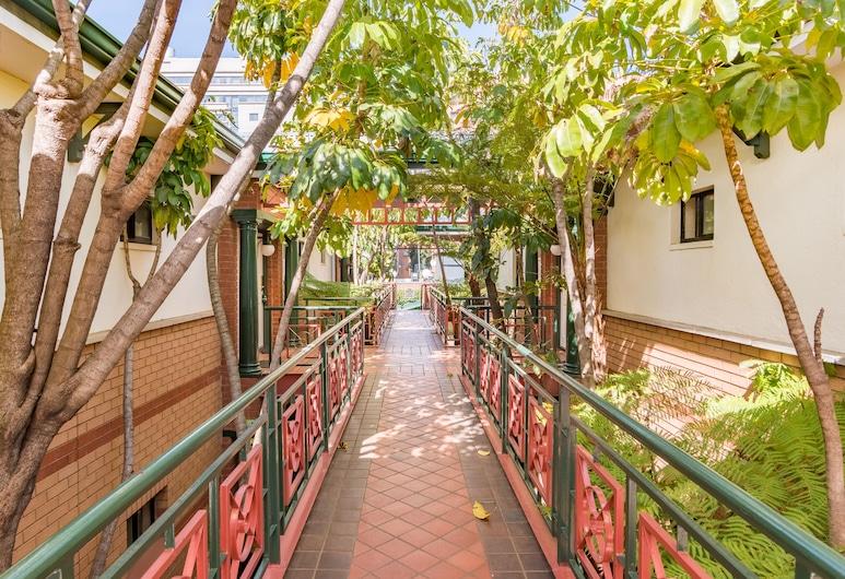 Courtyard Hotel Rosebank, Johanesburg, Teren przynależny do obiektu