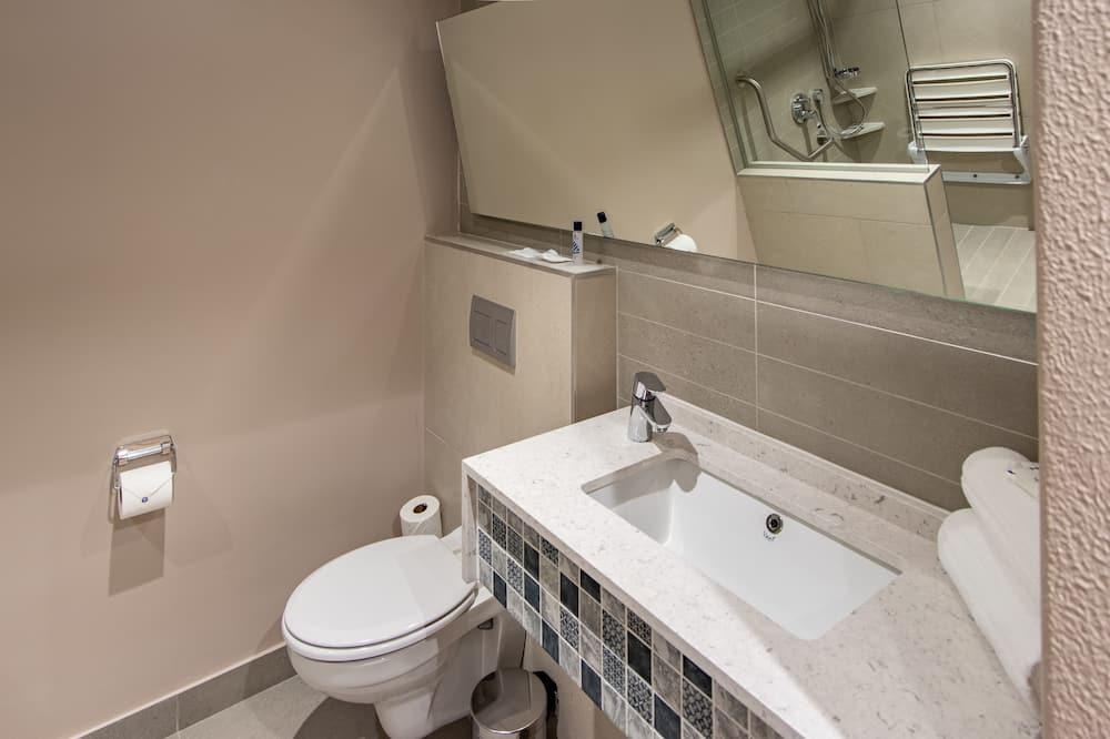 Quarto Duplo, Acessível, Não-fumadores - Casa de banho