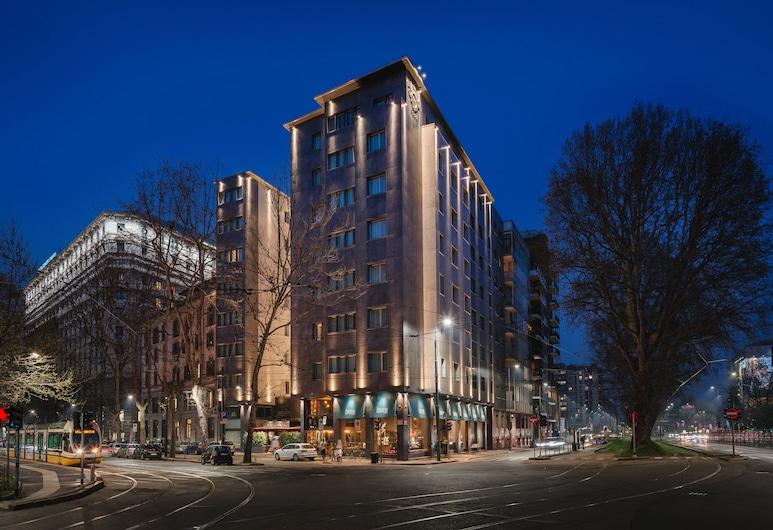 هوتل ويندسور ميلانو, ميلانو, واجهة الفندق - مساءً /ليلا