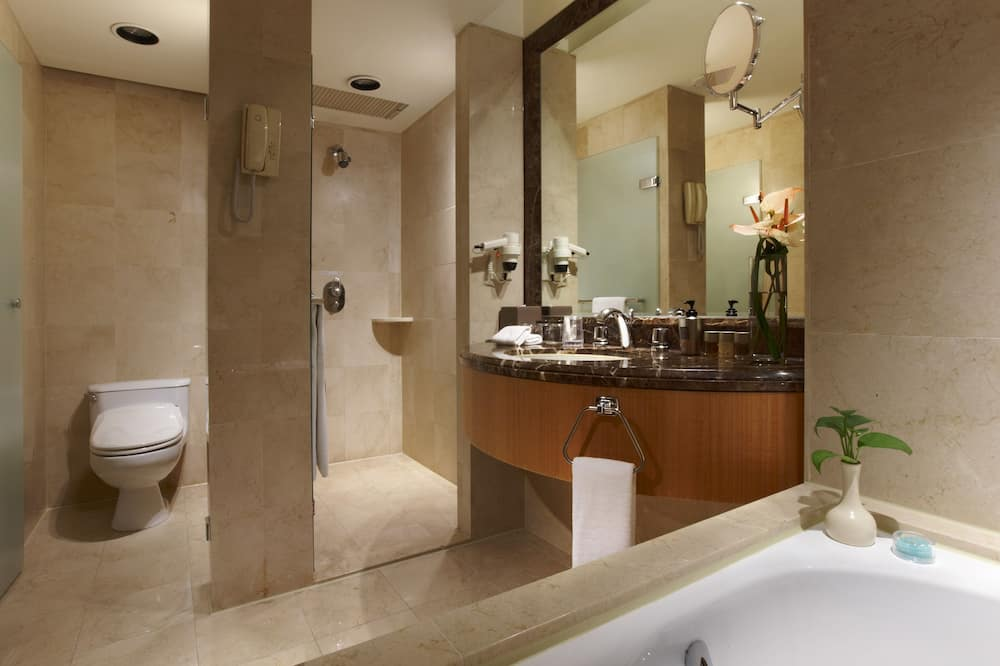 디럭스룸, 킹사이즈침대 1개 - 욕실