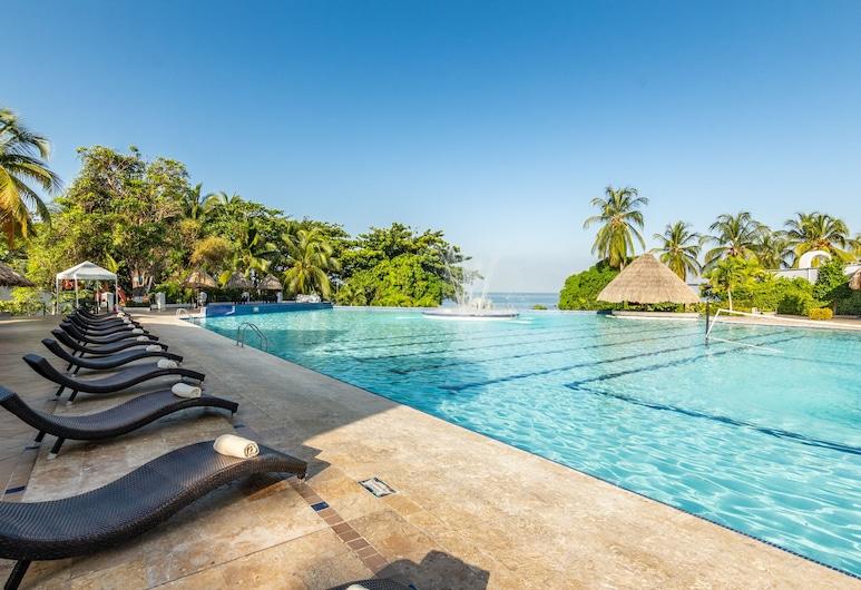 GHL Relax Hotel Costa Azul, Santa Marta, Piscina