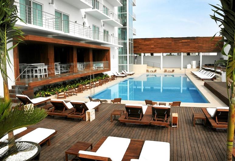 韋拉克魯斯安坡里奧飯店, 維拉克魯斯, 室外游泳池