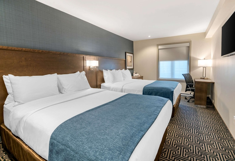 Quality Inn Centre-Ville, Montreal, Standard Room, 2 Queen Beds, Non Smoking, Guest Room
