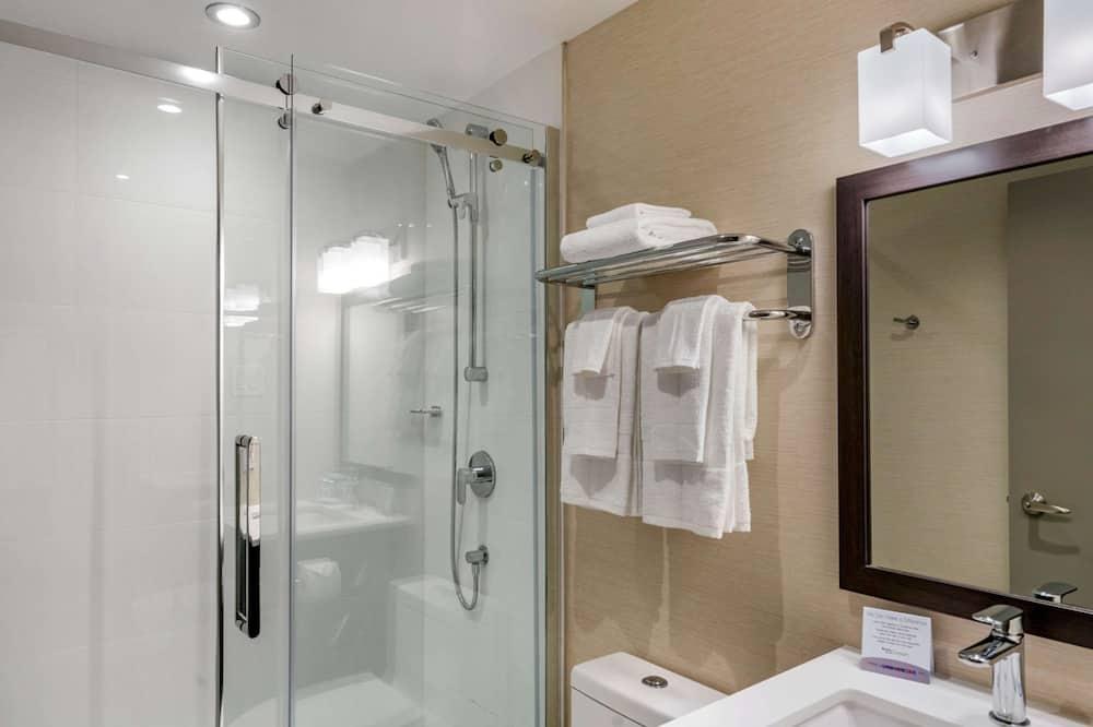 חדר סטנדרט, מיטה זוגית, ללא עישון - חדר רחצה