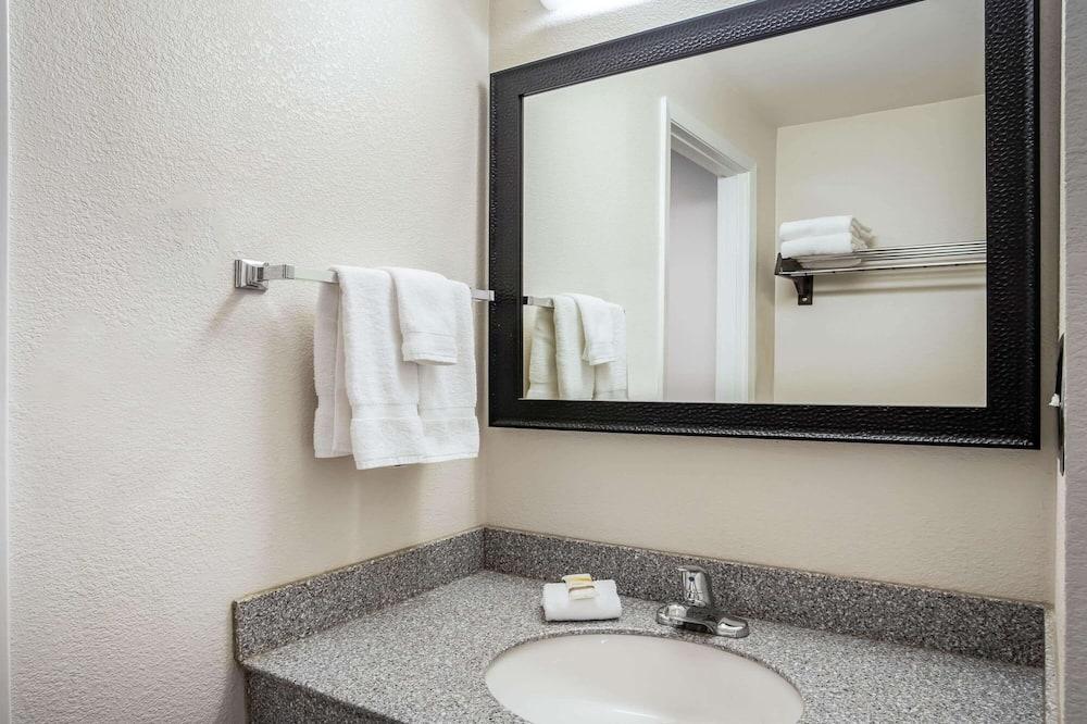 חדר יחיד, 2 מיטות זוגיות, ללא עישון - חדר רחצה