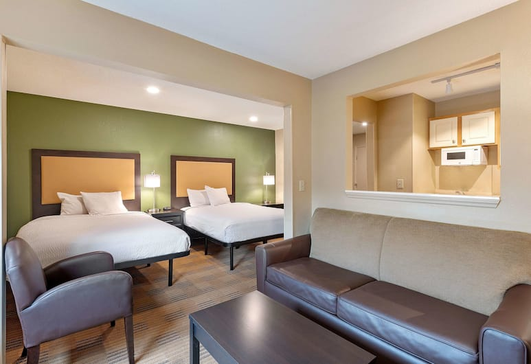 Extended Stay America Charlotte – Tyvola Rd – Executive Park, Charlotte, Deluxe stuudio, suitsetamine keelatud (2 Queen and 1 Sofa Bed), Tuba