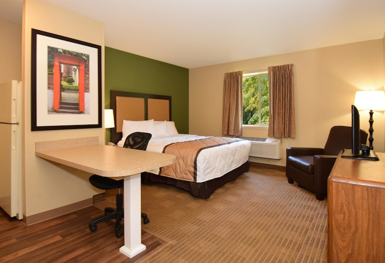 Extended Stay America - Raleigh-Research Triangle Park-Hwy54, דורהם, סטודיו, מיטת קווין, ללא עישון, חדר אורחים
