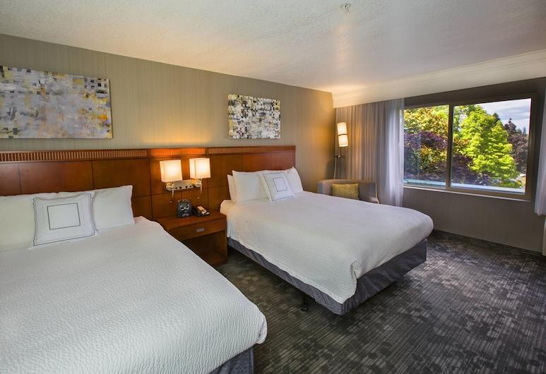 Courtyard by Marriott Portland Tigard, Tigard, Room, 2 Queen Beds, Non Smoking, Guest Room