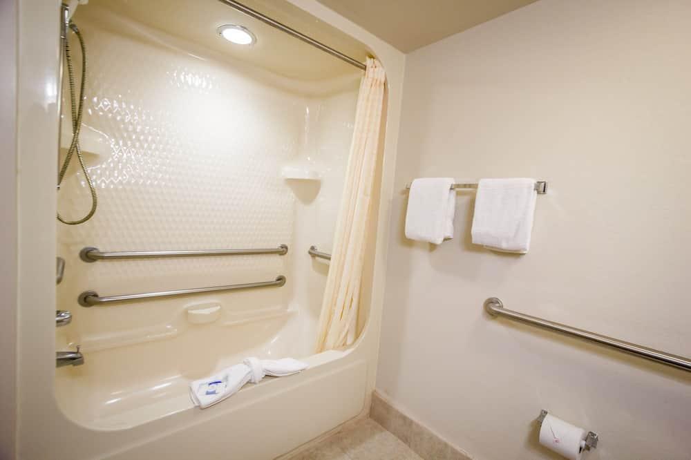Deluxe-Zimmer, 1 Queen-Bett, barrierefrei, Nichtraucher - Badezimmer
