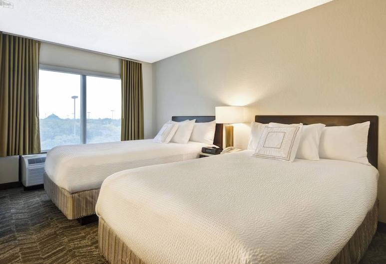 SpringHill Suites by Marriott San Antonio Medical Center/NW, San Antonio, Svit - 2 dubbelsängar - icke-rökare, Gästrum