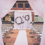 Kültéri esküvői terület