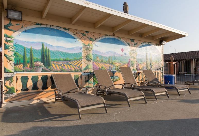 Wine Valley Lodge, Napa, Khu tắm nắng