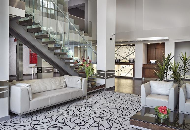 Matrix Hotel, Edmonton, Lobby Sitting Area