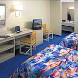 Štandardná izba, 2 veľké dvojlôžka, fajčiarska izba, chladnička a mikrovlnná rúra - Obývacie priestory