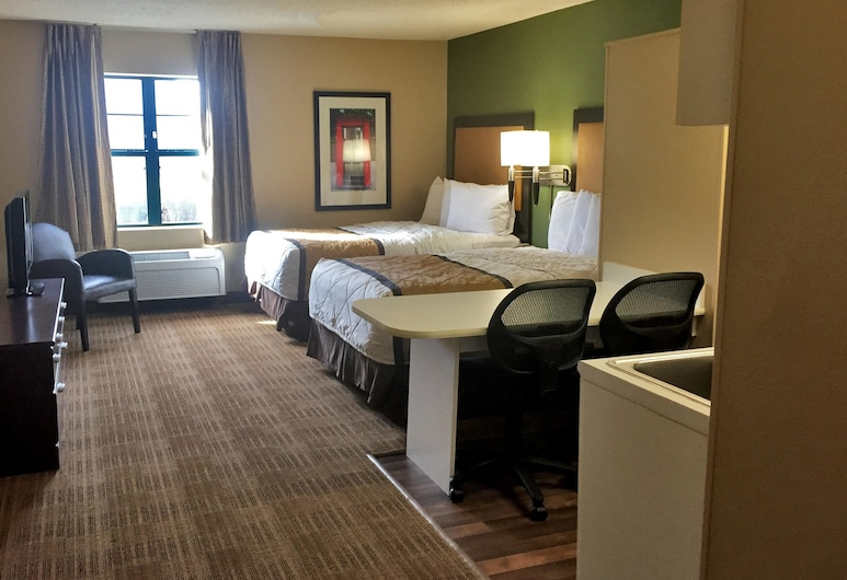 Extended Stay America - Chicago - Naperville - West, Naperville, Studio, 2 Double Beds, Non Smoking, Guest Room