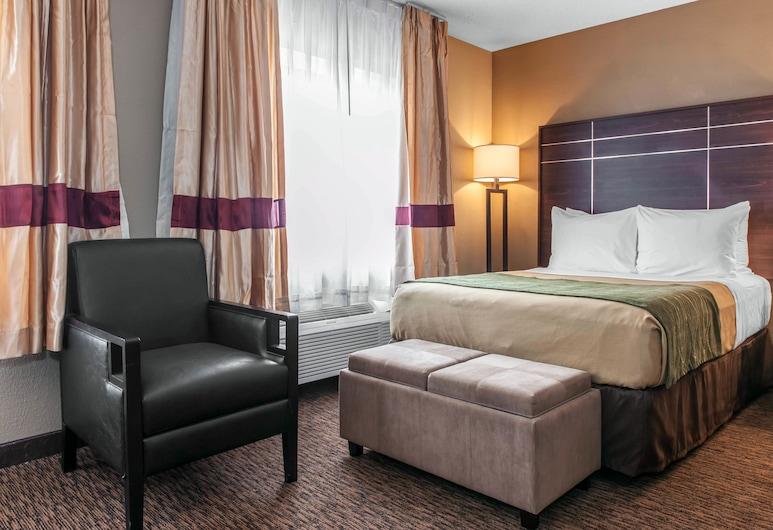 Comfort Inn, פורט ווין, חדר סטנדרט, מיטת קינג, ללא עישון, חדר אורחים