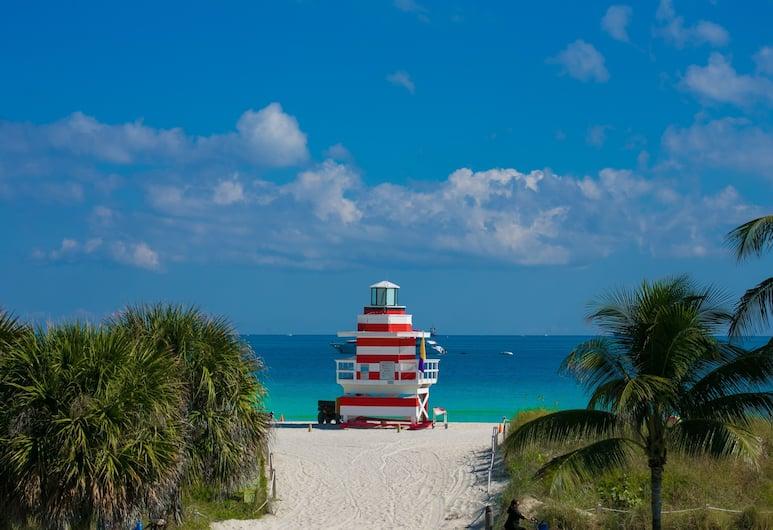 Majestic South Beach Hotel, Miami Beach, Pláž