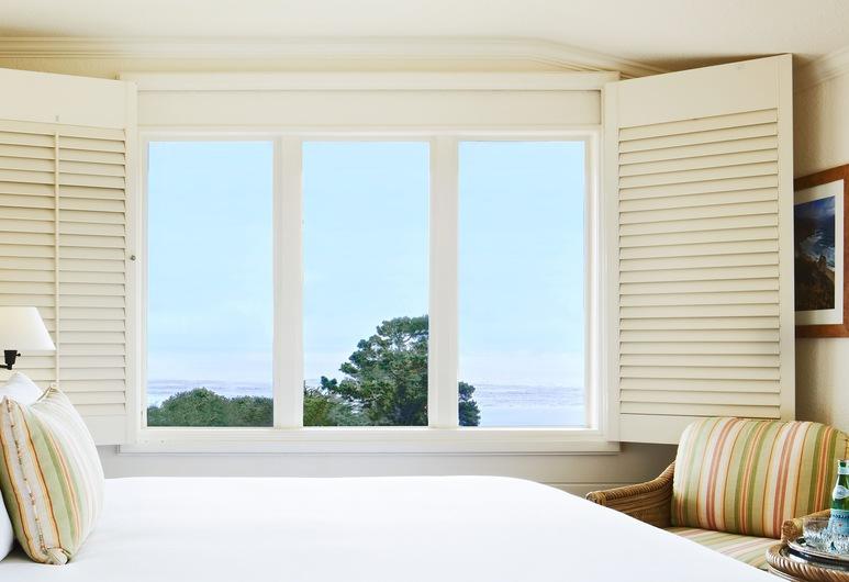 La Playa Carmel, Carmel, Standardna soba, 1 king size krevet, pogled na ocean, Pogled iz sobe za goste