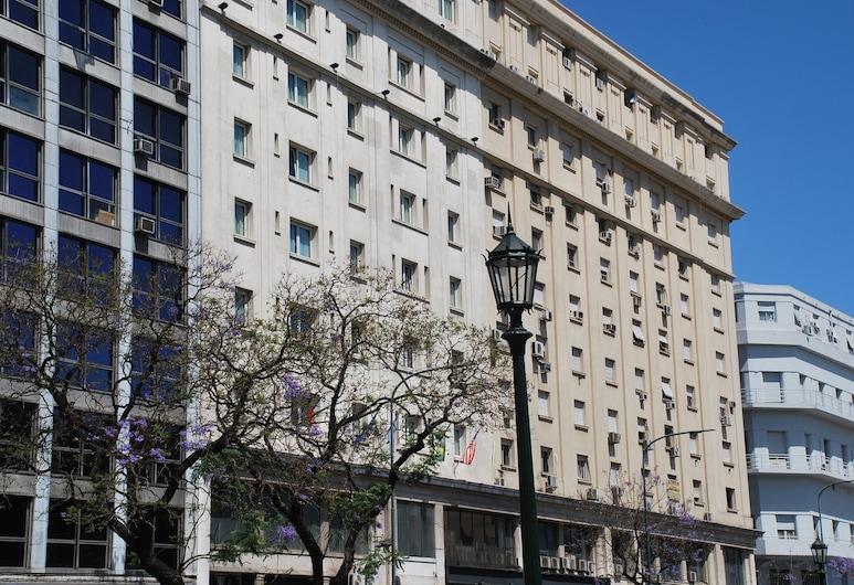 Gran Hotel Argentino, Buenos Aires, Průčelí hotelu