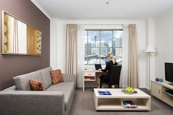 Picture of Oaks Goldsbrough Apartments Darling Harbour  in Pyrmont