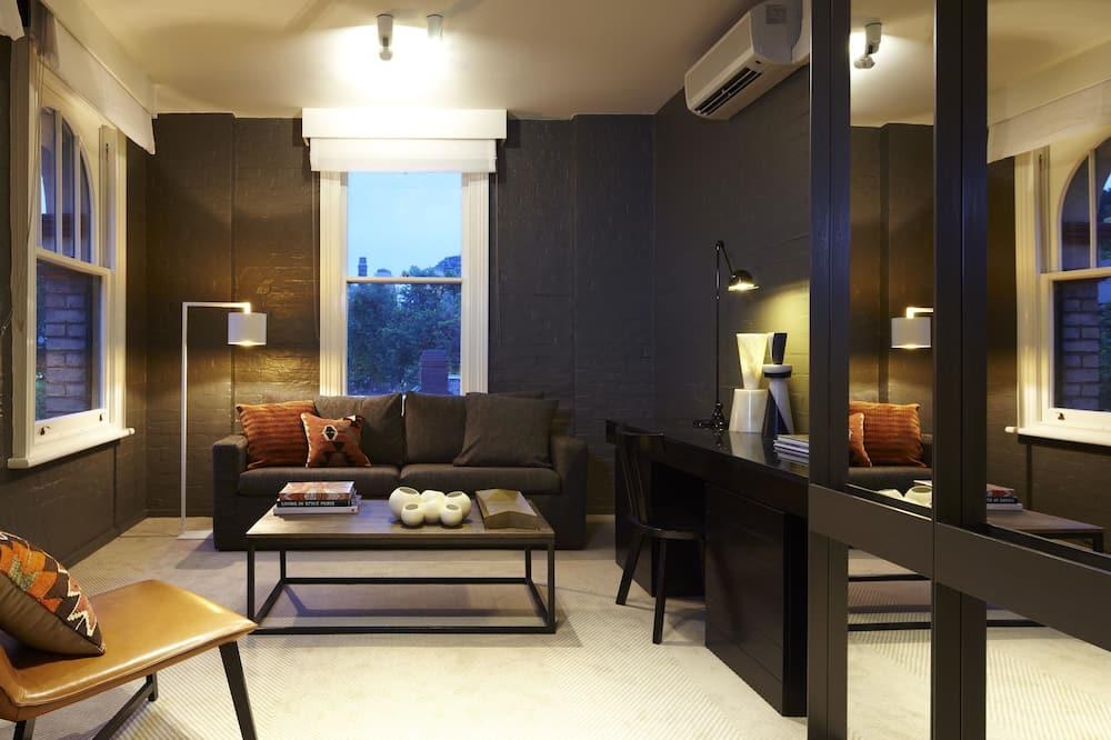 Studio, 1 kingsize bed - Woonruimte
