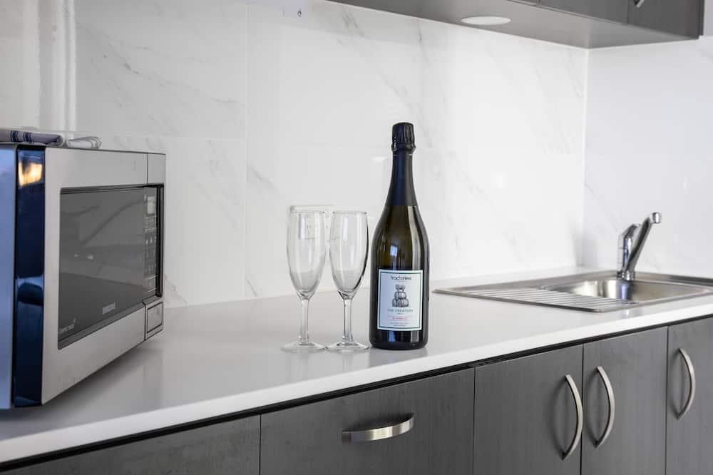 Appartamento, accessibile ai disabili, angolo cottura (Studio Apartment CH) - Area soggiorno