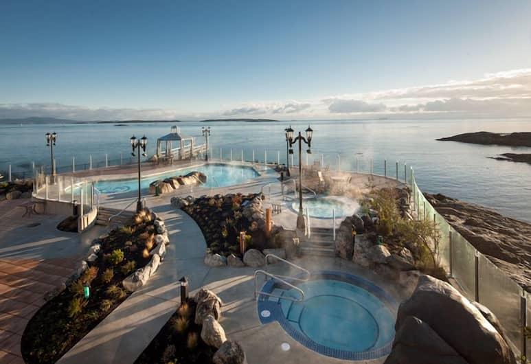 "Oak Bay Beach Hotel, Victoria, Suite, 1 King Bed, Ocean View (""Our Best"" Ocean View), Outdoor Pool"