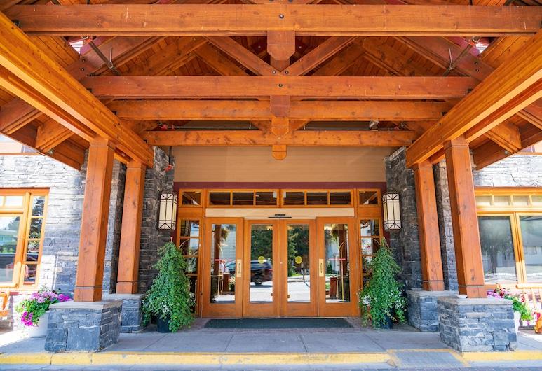 Banff Ptarmigan Inn, Banfas, Įėjimas į viešbutį