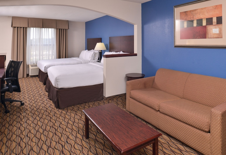 Holiday Inn Express Omaha West - 90th Street, Omaha, Suite, 2 grands lits, non-fumeurs, Chambre