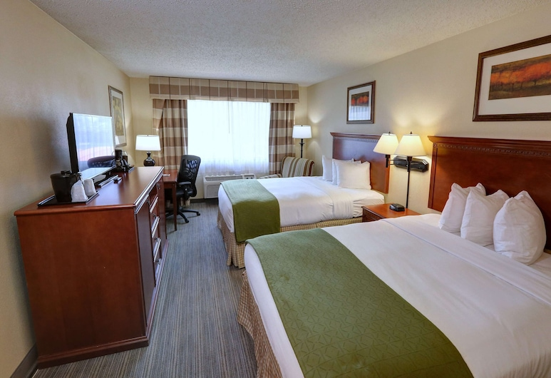 Country Inn & Suites by Radisson, Charlotte I-85 Airport, NC, Charlotte, Room, 2 Queen Beds, Non Smoking, Guest Room