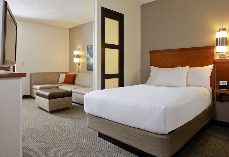 Hyatt Place Tulsa/South-Medical District, Tulsa, Quarto, 1 cama king-size (High Floor), Quarto