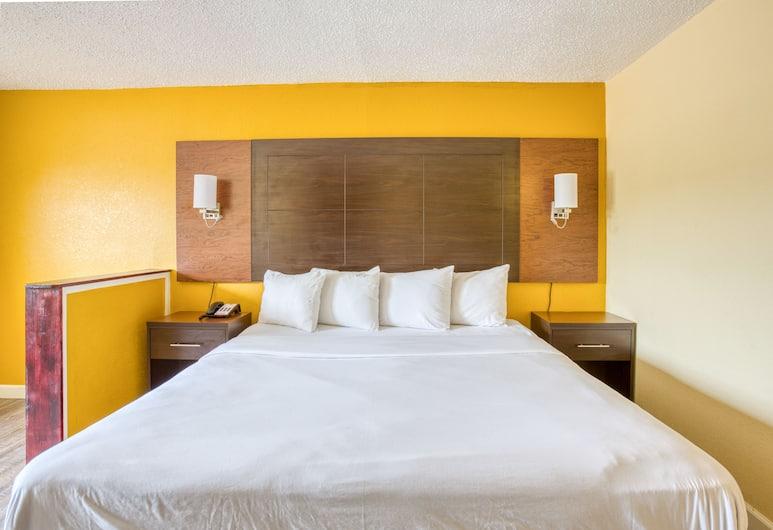 OYO Townhouse Tulsa Airport & Fairgrounds, Талса, Номер, 1 двуспальная кровать «Кинг-сайз», Номер