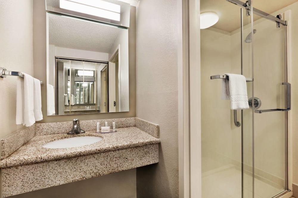 Kamer, 1 tweepersoonsbed, niet-roken - Badkamer