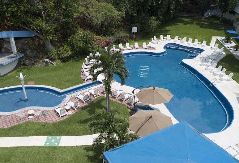 Hotel Villa Bejar Tequesquitengo, Tequesquitengo, Kültéri medence